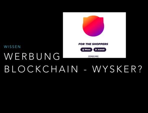 Werbung auf der Blockchain – Beispiel Wysker